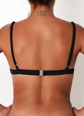 Women Sexy Bikini Swimsuit Top Backless Bralette Beach  Swimwear_6