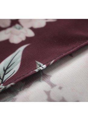 Women Long Beach Cover Up Chiffon Kimono_9