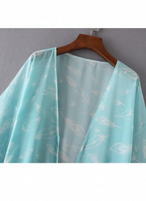 Women Kimono Beach Cover Up Outerwear_6