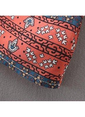 Boho Chiffon Floral Print Front Open Women's Loose Kimono_7