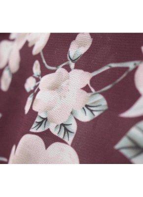 Women Long Beach Cover Up Chiffon Kimono_10