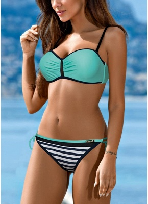 Sexy Bikini Set Contrast color_5