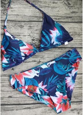 Women Jungle Print Sexy Bikini Set Summer Beach Swimwear Two Piece Swimsuit_1