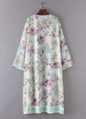 Women Chiffon Loose Cardigan Casual Outerwear_6