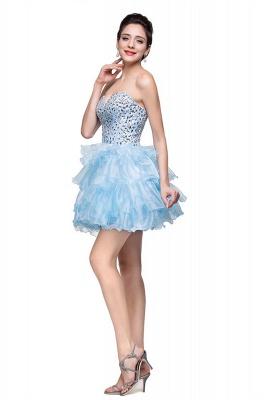 Glamroous Sweetheart Crystal Homecoming Dress UK Organza_2