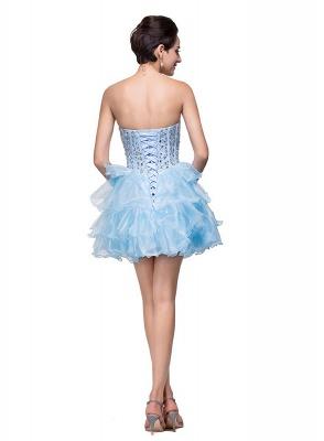 Glamroous Sweetheart Crystal Homecoming Dress UK Organza_3