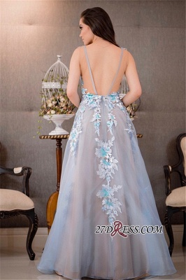 V-Neck tulle prom Dress UK,pretty Dress UKes UK for women_3