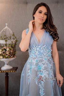 V-Neck tulle prom Dress UK,pretty Dress UKes UK for women_2