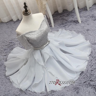 Short A-Line Lace Off-the-Shoulder Bowknot Sexy Homecoming Dress UK_5