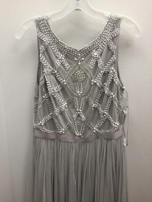 Sexy Beadings Tulle Jewel Prom Dress UK A-line Sleeveless_3