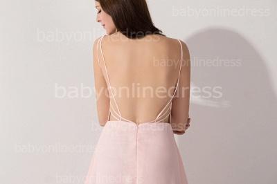 Long V-neck Sexy Prom Dress UK Chiffon sleeveless Evening Gowns_3