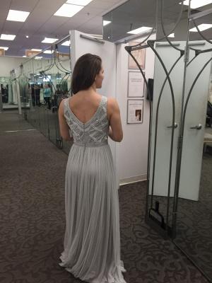 Sexy Beadings Tulle Jewel Prom Dress UK A-line Sleeveless_4