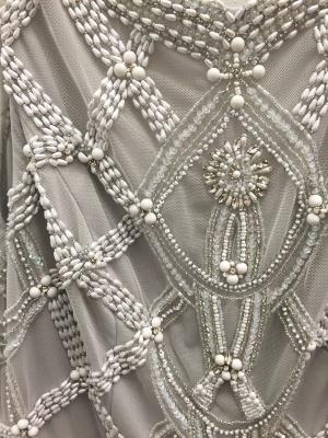 Sexy Beadings Tulle Jewel Prom Dress UK A-line Sleeveless_5