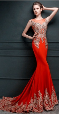 Gorgeous Illusion Cap Sleeve Prom Dress UK With Beadings Appliques_7