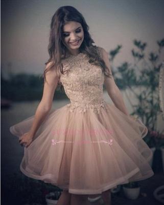 Lovely Lace Homecoming Dress UKes UK | Short Prom Dress UK Online_1