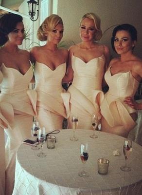 Long Simple Bridesmaid Dress UK Special Design Sweetheart Mermaid Prom Dress UK 2d2012_1