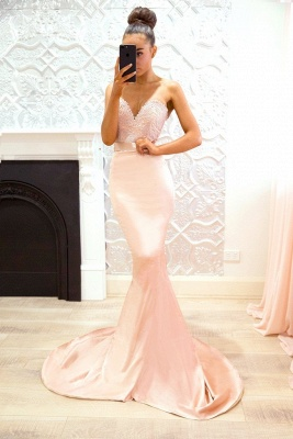 Luxury Sweetheart Lace Prom Dress UK | Mermaid Bridesmaid Dress UK_1
