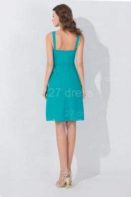 High Quality Spaghetti Strap Evening Dress UK Chiffon A-line_3