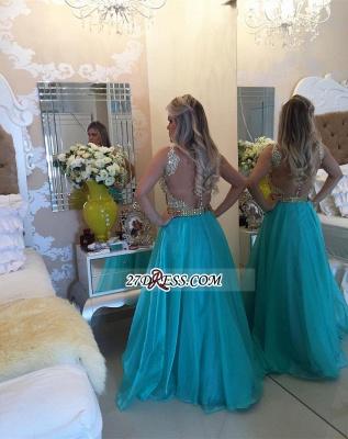 Luxury Sleeveless A-Line Prom Dress UKes UK Appliques Chiffon BA4539_4