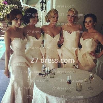 Long Simple Bridesmaid Dress UK Special Design Sweetheart Mermaid Prom Dress UK 2d2012_2