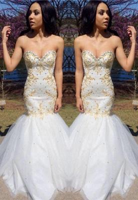 Sweetheart Beadings Prom Dress UK   Mermaid Long Evening Gowns_2