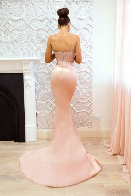 Luxury Sweetheart Lace Prom Dress UK | Mermaid Bridesmaid Dress UK_3
