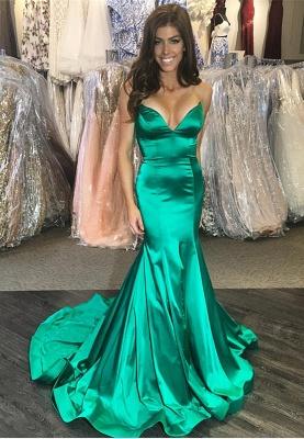 Green mermaid prom Dress UK, long evening Dress UK online_1