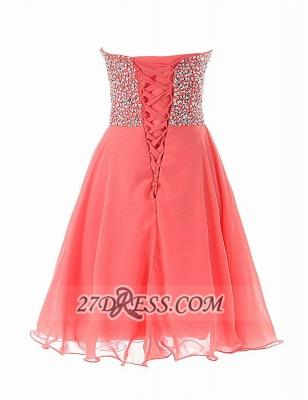 Elegant Sweetheart Sleeveless Short Homecoming Dress UK Lace-up Beadings Crystals Chiffon Cocktail Gown_4
