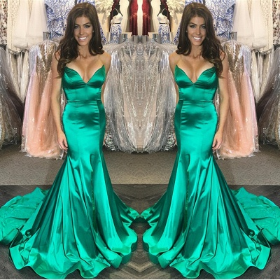 Green mermaid prom Dress UK, long evening Dress UK online_3