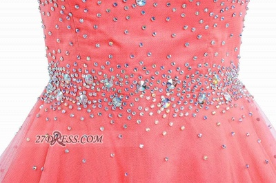 Lovely Illusion Cap Sleeve Short Homecoming Dress UK Beadings Crystals Zipper Cocktail Gown_4