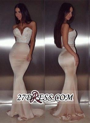 mermaid Lace Luxury Sweetheart Floor-Length beadings Evening Dress UK BA4232_2