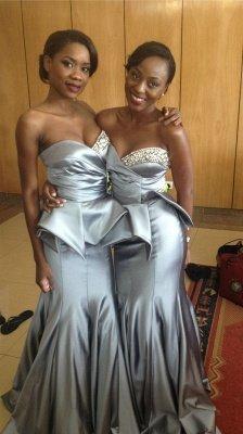Elegant Sweetheart Sleeveless Mermaid Prom Dress UK Floor-length With Beadings_2