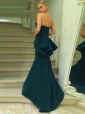 Sexy Green Designer Ruffles Evening Dress UK Mermaid Long On Sale BA7470_3
