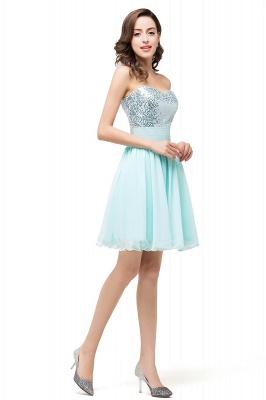 Sexy Sequins Lace-up Homecoming Dress UK Short Chiffon_5