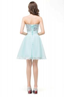 Sexy Sequins Lace-up Homecoming Dress UK Short Chiffon_3