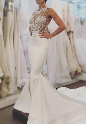 Lace wedding dress, Sexy Mermaid bridal gowns BA8049_1