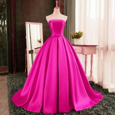 Elegant Strapless Prom Dress UK Long Womens Evening Party Dress UK_2