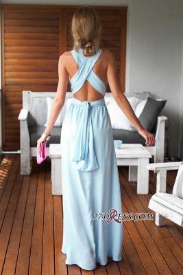 Sleeveless Floor-Length Long Criss-Cross Beautiful Prom Dress UK BA6970_2