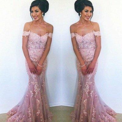 Sexy Off-the-Shoulder Evening Dress UK   Mermaid Prom Dress UK_3