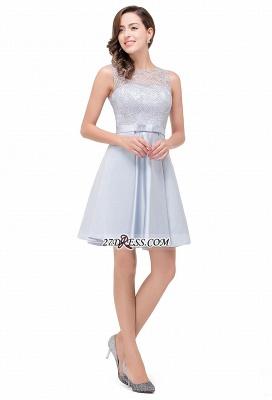 Short Lace Sexy Sleeveless Zipper Homecoming Dress UK_6