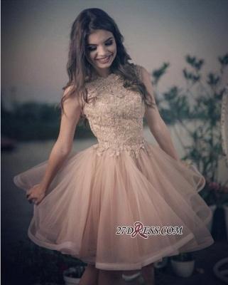 Lovely Lace Homecoming Dress UKes UK | Short Prom Dress UK Online_3