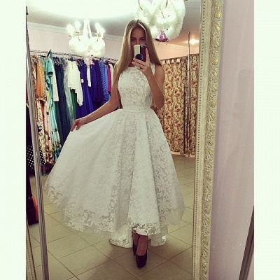 Modern Jewel Sleeveless Lace Prom Dress UK Sweep Train_4