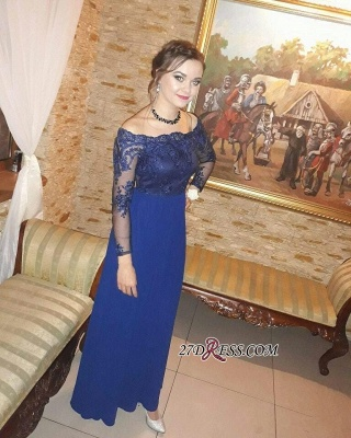 Long-Sleeves Prom Dress UKes UK | Lace Evening Party Gowns_1