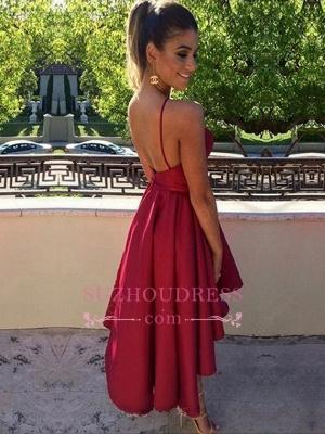 Keyhole Short Sleeveless Modest Backless Short homecoming Dress UK BA6678_1