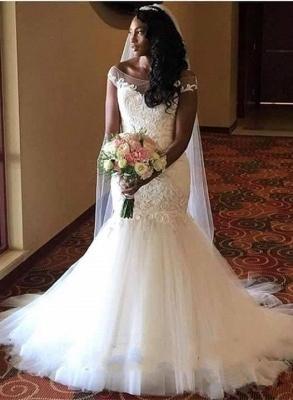 Lace Sexy Mermaid wedding dress, bridal gowns_1