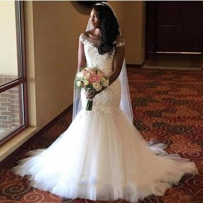 Lace Sexy Mermaid wedding dress, bridal gowns_3