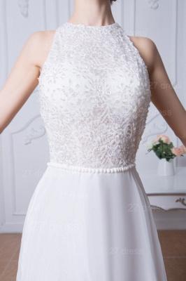 Sexy Jewel White Chiffon Evening Dress UK Open Back_4