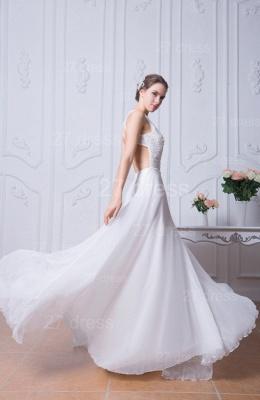 Sexy Jewel White Chiffon Evening Dress UK Open Back_3