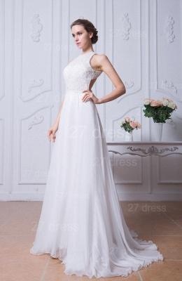 Sexy Jewel White Chiffon Evening Dress UK Open Back_2