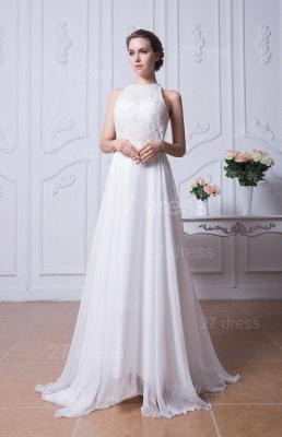 Sexy Jewel White Chiffon Evening Dress UK Open Back_1